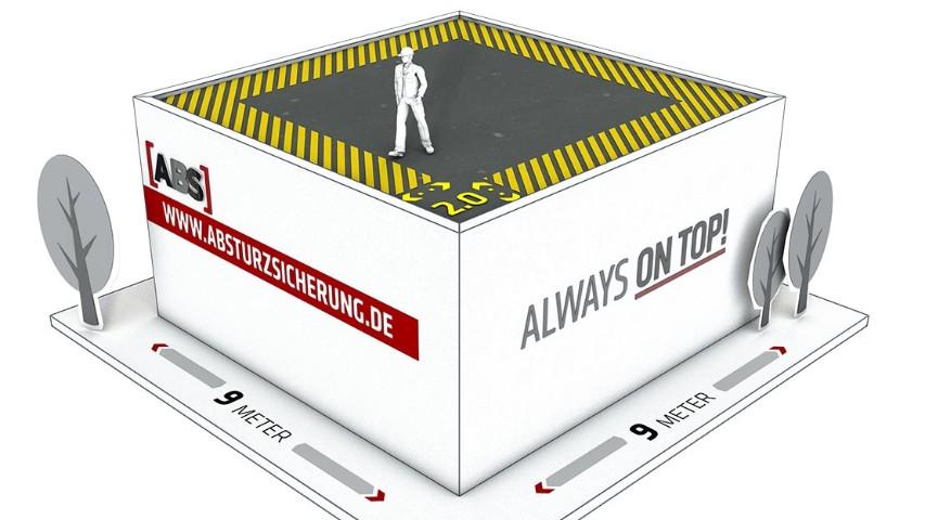 Gefahrenbereiche auf Dächern und Absturzkanten